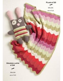 patron gratuit tricot doudou mexicaine