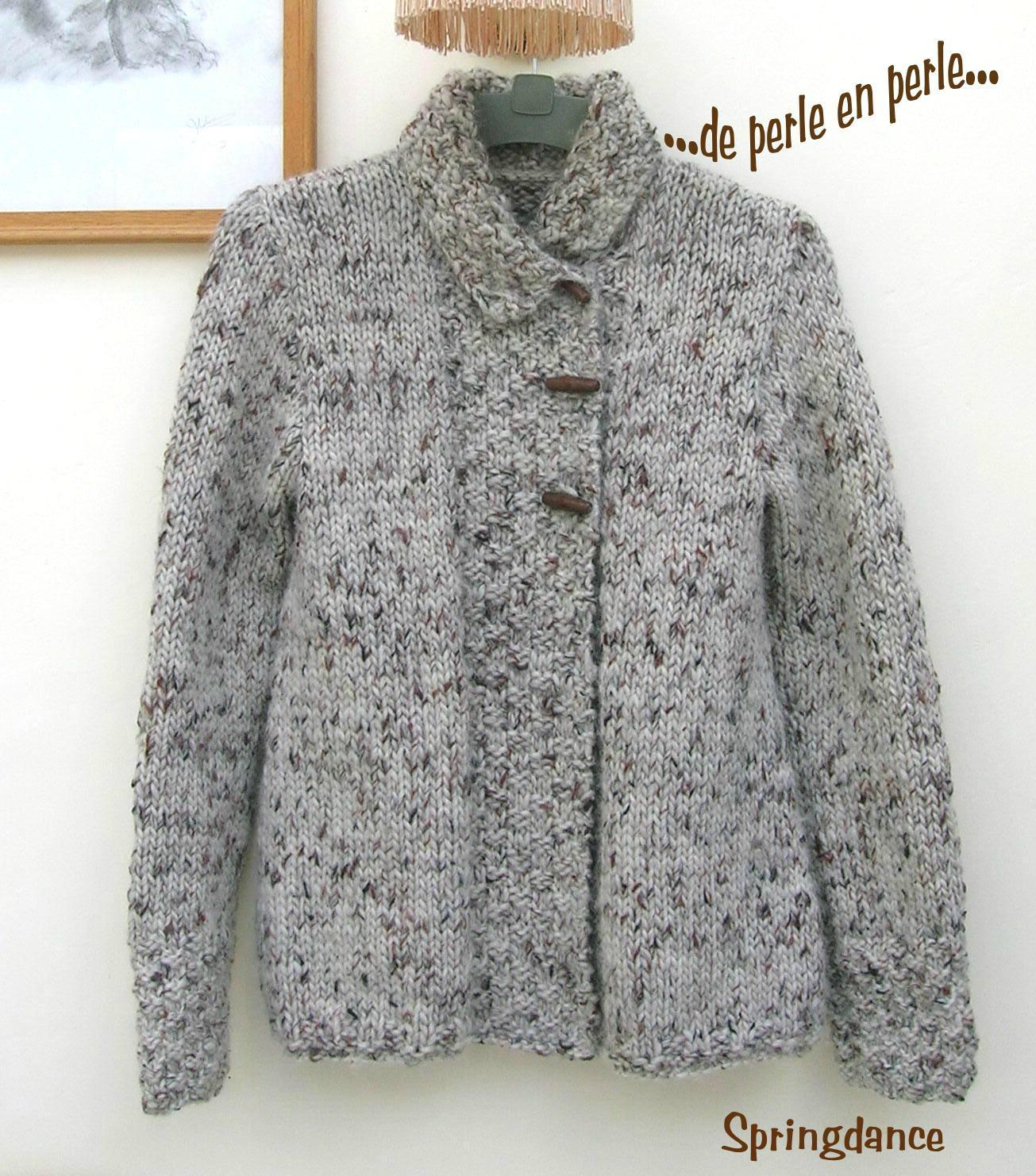 modèle tricot drops