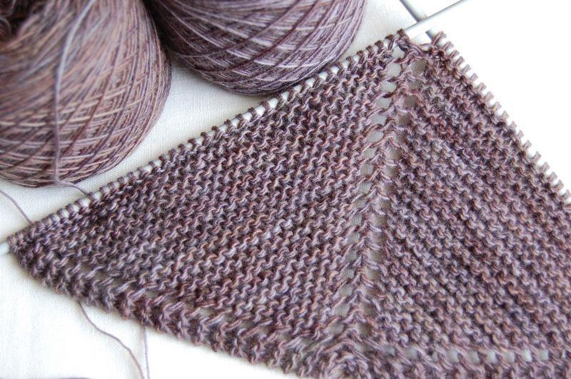 modèle chale tricot pour bébé