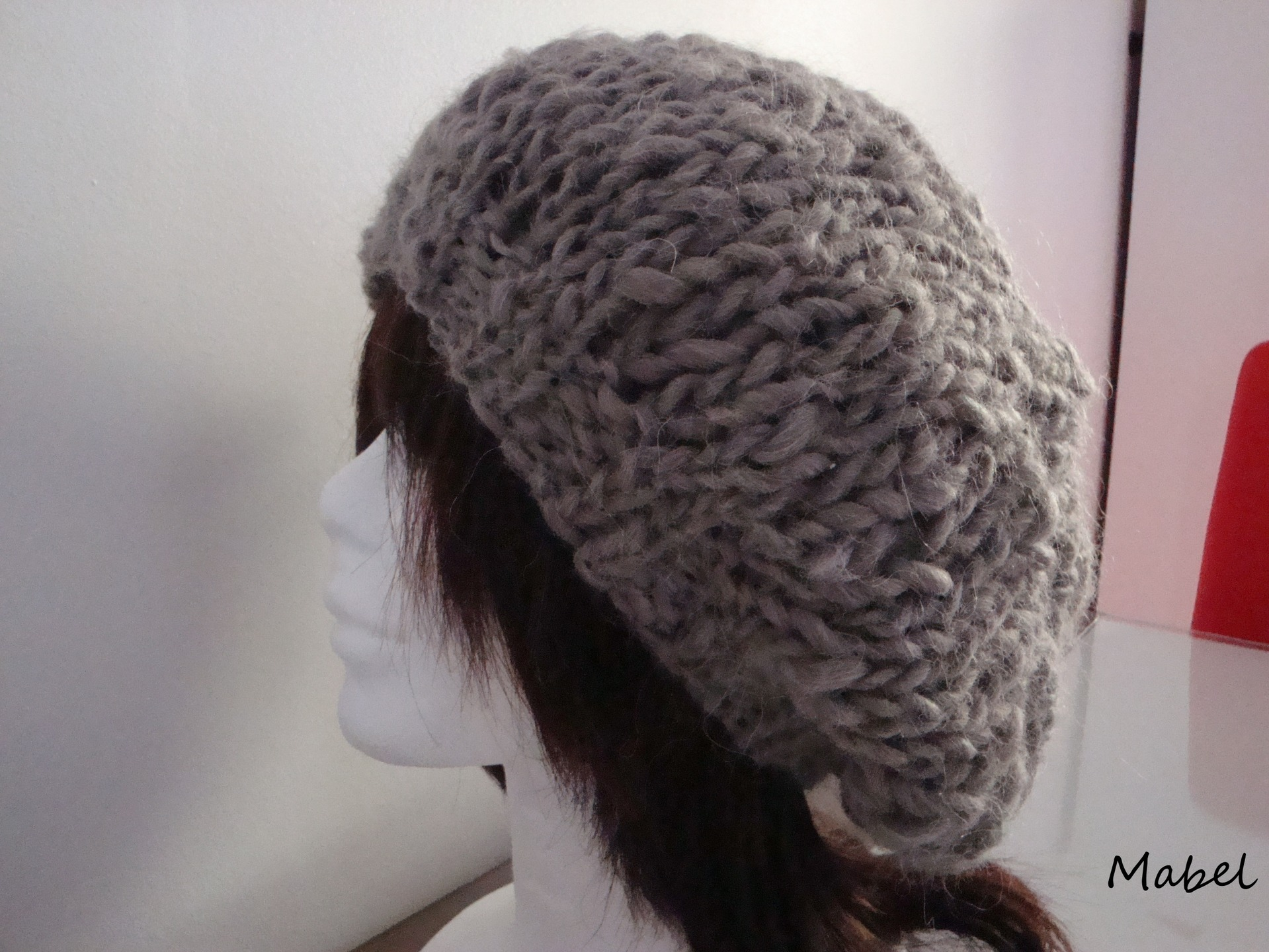 Modele tricot bonnet grosse maille - Tricot grosse maille ...