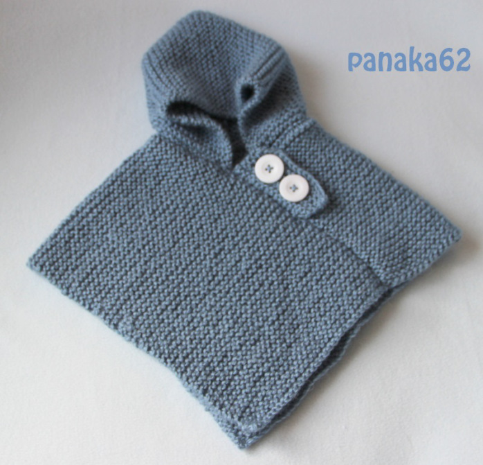 Mod le tricot poncho b b gratuit - Cote 2 2 tricot ...