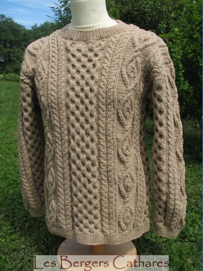 modele irlandais tricot