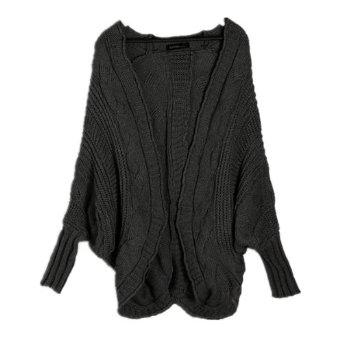 modele tricot gilet manche chauve-souris