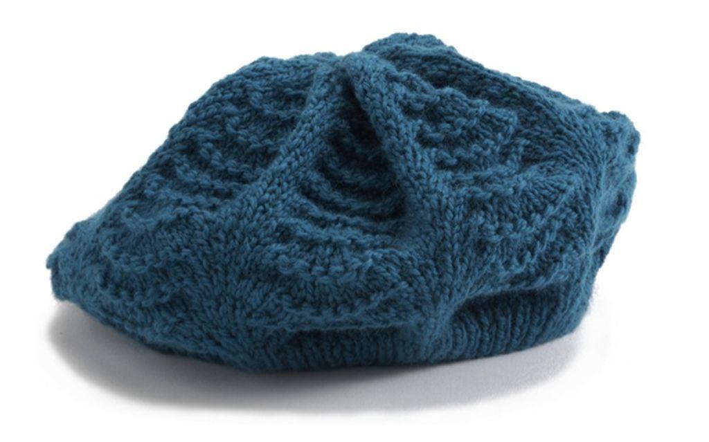 Patron tricot beret - Modele poterie pour debutant ...