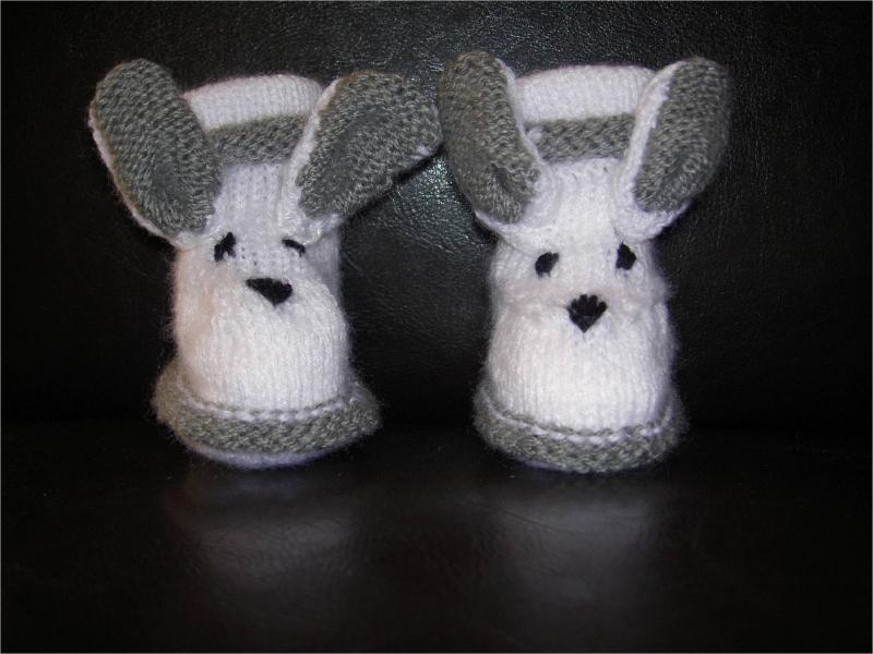 modèle tricot chaussettes noel