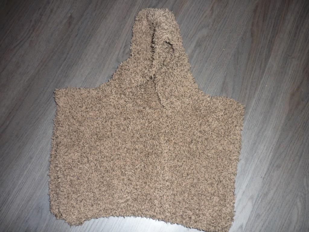 modèle tricot poncho bébé gratuit