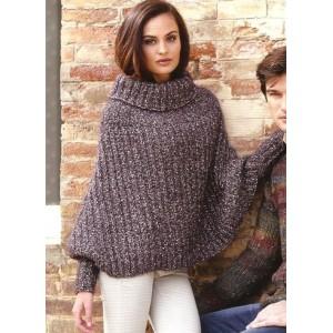 Patron tricoter poncho - Explication pour tricoter un poncho femme ...