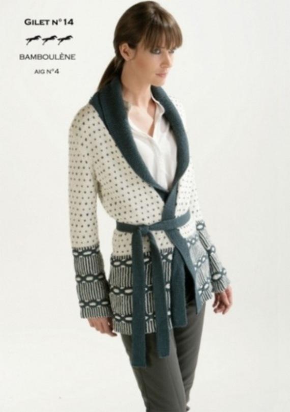 modele tricot en crochet