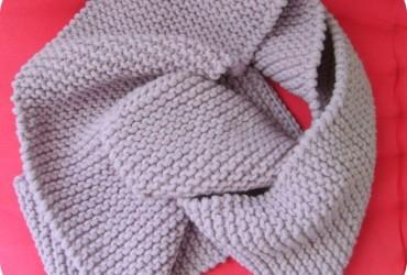 écharpe harry potter a tricoter